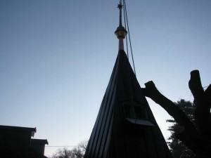 Rekonštrukcia strechy a veže kostola - Ždaňa