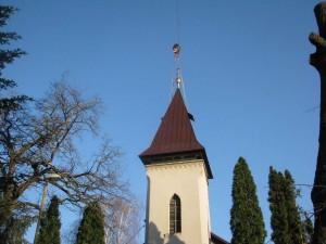Rekonštrukcia strechy a veže kostola - ŽdaňaRekonštrukcia strechy a veže kostola - Ždaňa