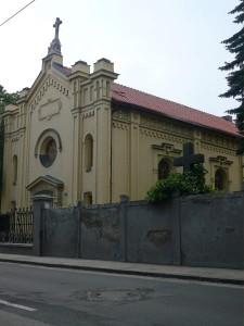Rekonštrukcia strechy modlitebne BJB - Bratislava