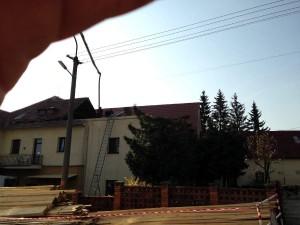 Rekonštrukcia strechy domova dôchodcov - Krupina