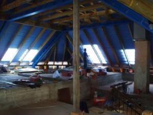 Rekonštrukcia strechy firmy Skorpion - Sása