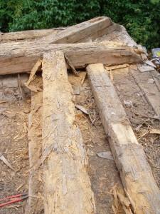 Rekonštrukcia strechy kostola - Drážovce