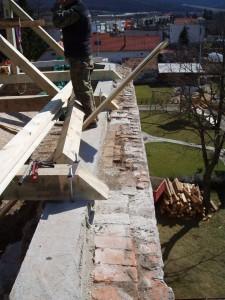 Rekonštrukcia strechy kostola - Podhorany pri NitreRekonštrukcia strechy kostola - Podhorany pri Nitre