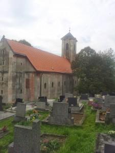 Rekonštrukcia strechy kostola - Brezová pod Bradlom