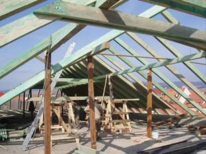 Rekonštrukcia strechy (južné krídlo) kláštora Minoriti - Levoča