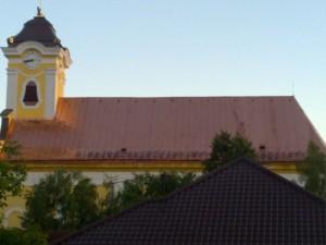 Rekonštrukcia strechy kostola - Bošany