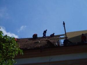 Rekonštrukcia strechy kostola - Krakovany