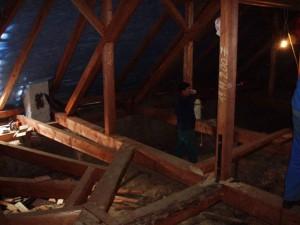 Rekonštrukcia strechy kostola - Revúcka Lehota