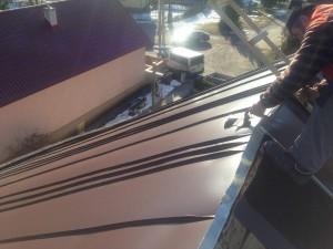Rekonštrukcia strechy kostola - Sokoľ