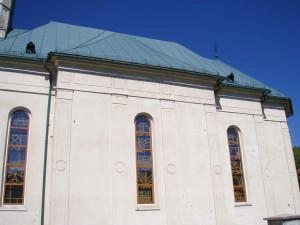 Rekonštrukcia strechy baziliky minor - Ľutina