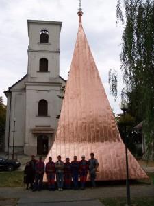 Rekonštrukcia strechy a veže kostola - Valaliky