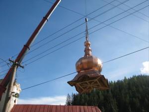 Rekonštrukcia veže kostola - ECAV Vyšná Boca