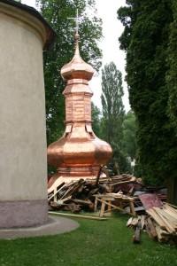 Rekonštrukcia veže kostola - Hermanovce
