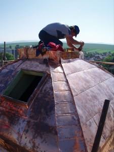 Rekonštrukcia veže kostola - Bošany