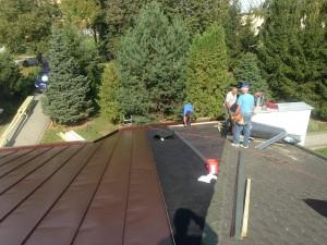 Rekonštrukcia strechy kostola - Geča