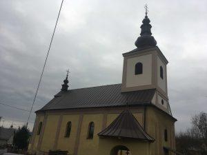 Rekonštrukcia strechy a veže greckokatolíckeho chrámu - Kurov