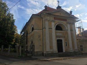Rekonštrukcia strechy kostola - Kremnica