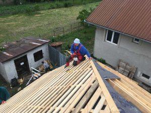 Rekonštrukcia strechy kostola - Soľnička